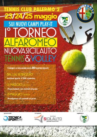 locandina volley calcio