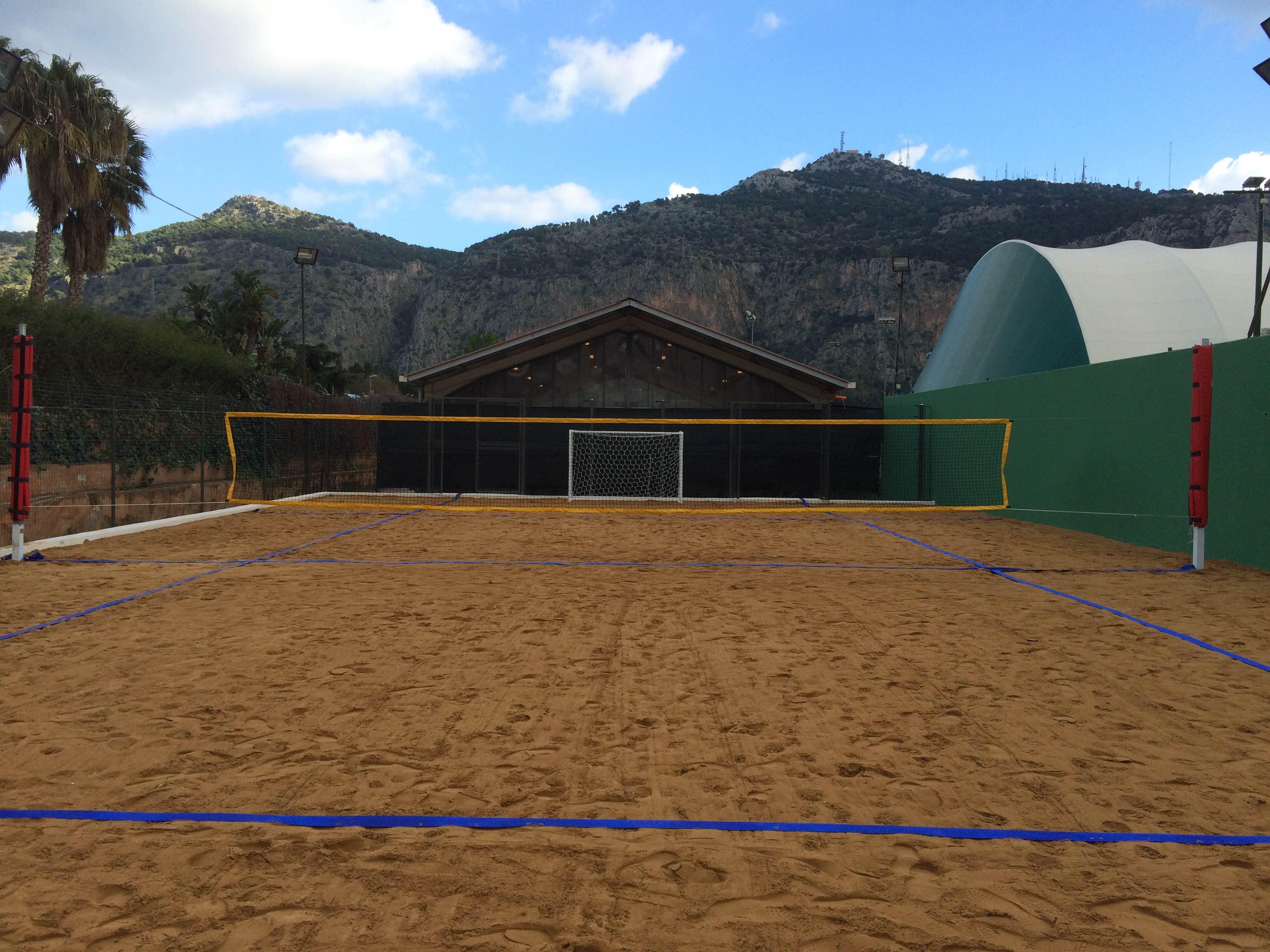 campo di beach tennis Tc2
