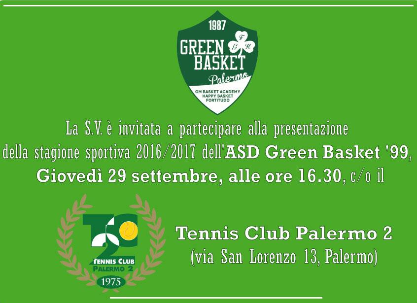 Invito Presentazione Green