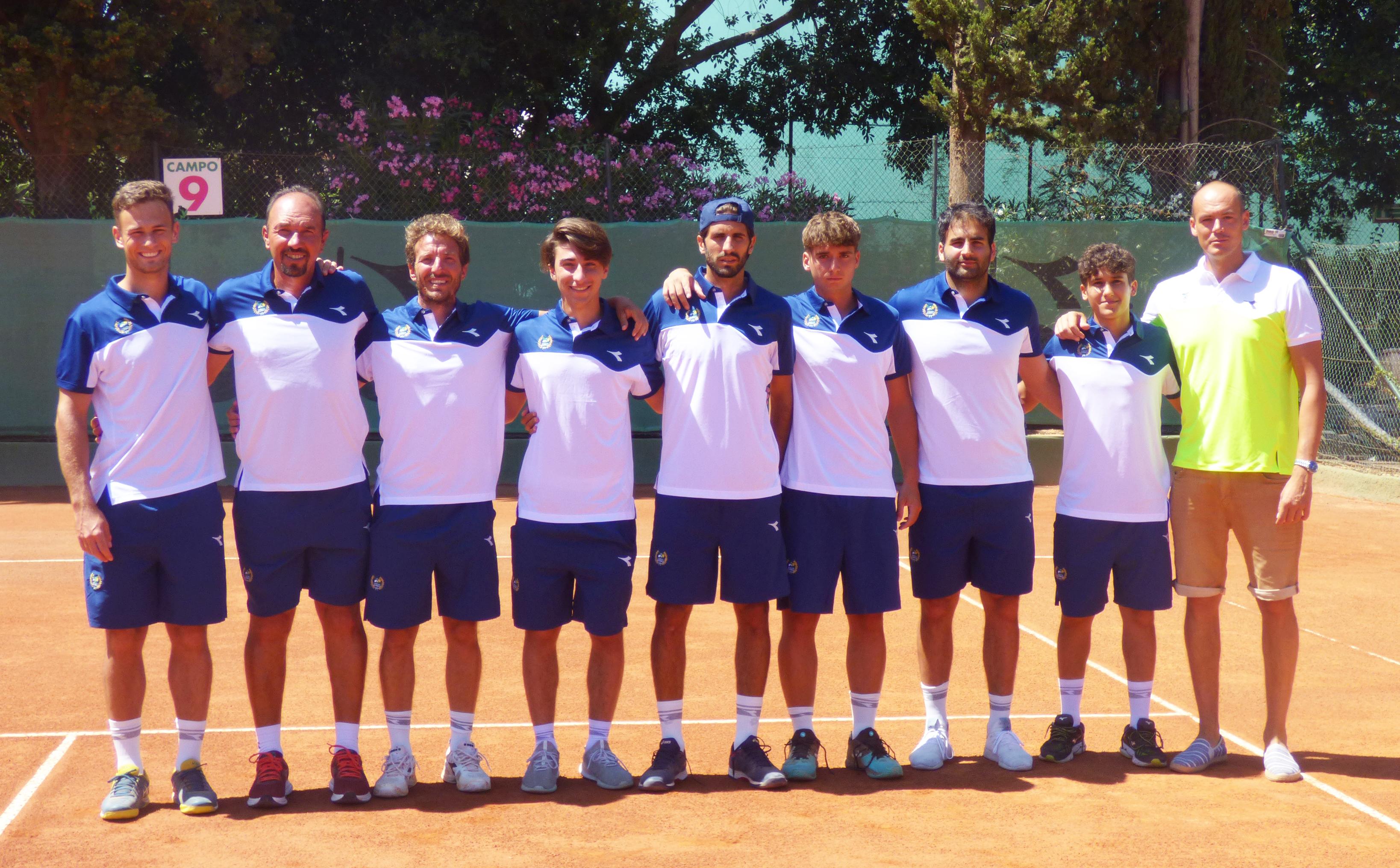 Campionato Italiano Di Tennis A Squadre Il Tc2 Resta In Serie A Tennis Club Palermo 2